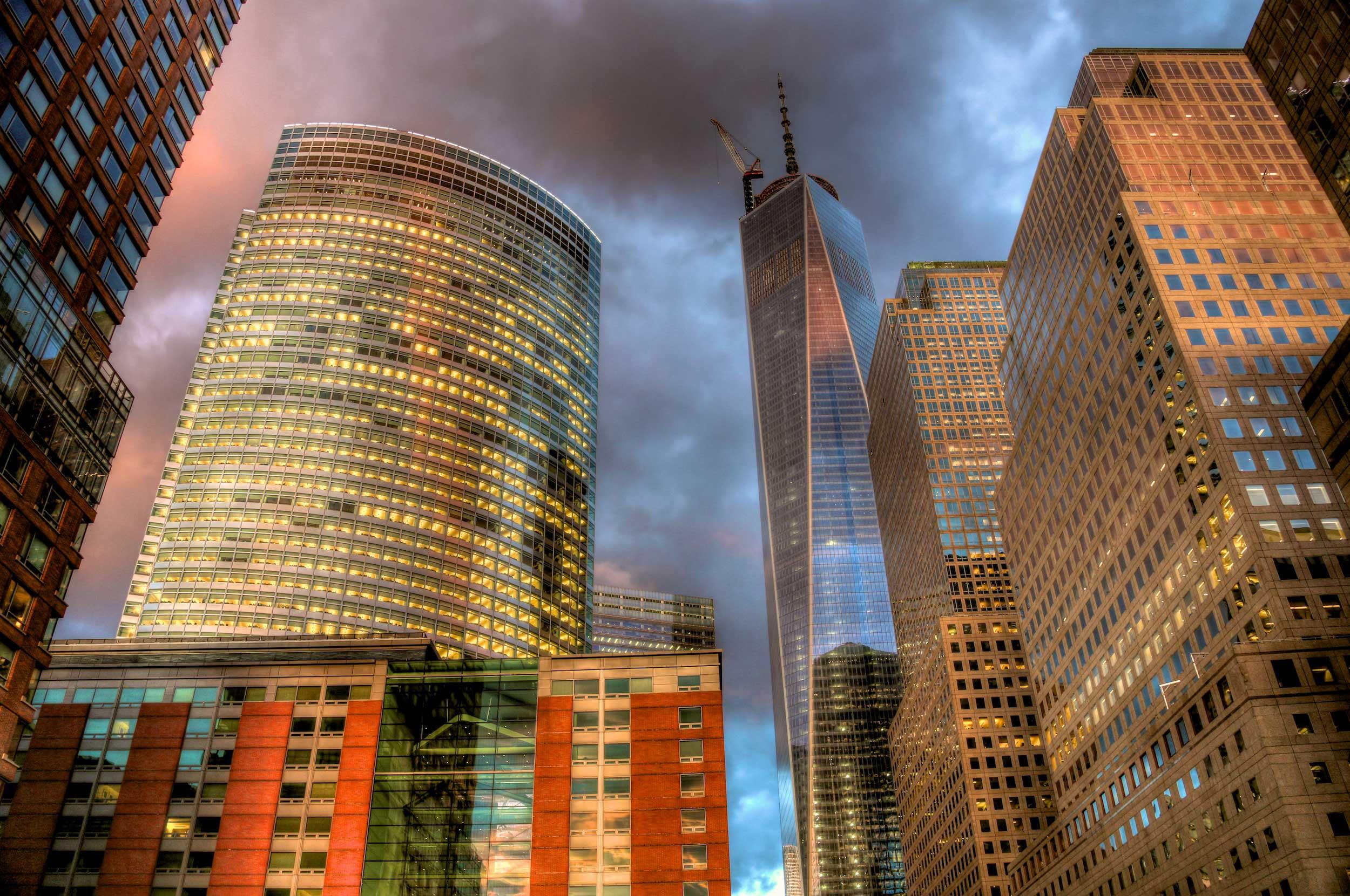 Blick auf das 1WTC