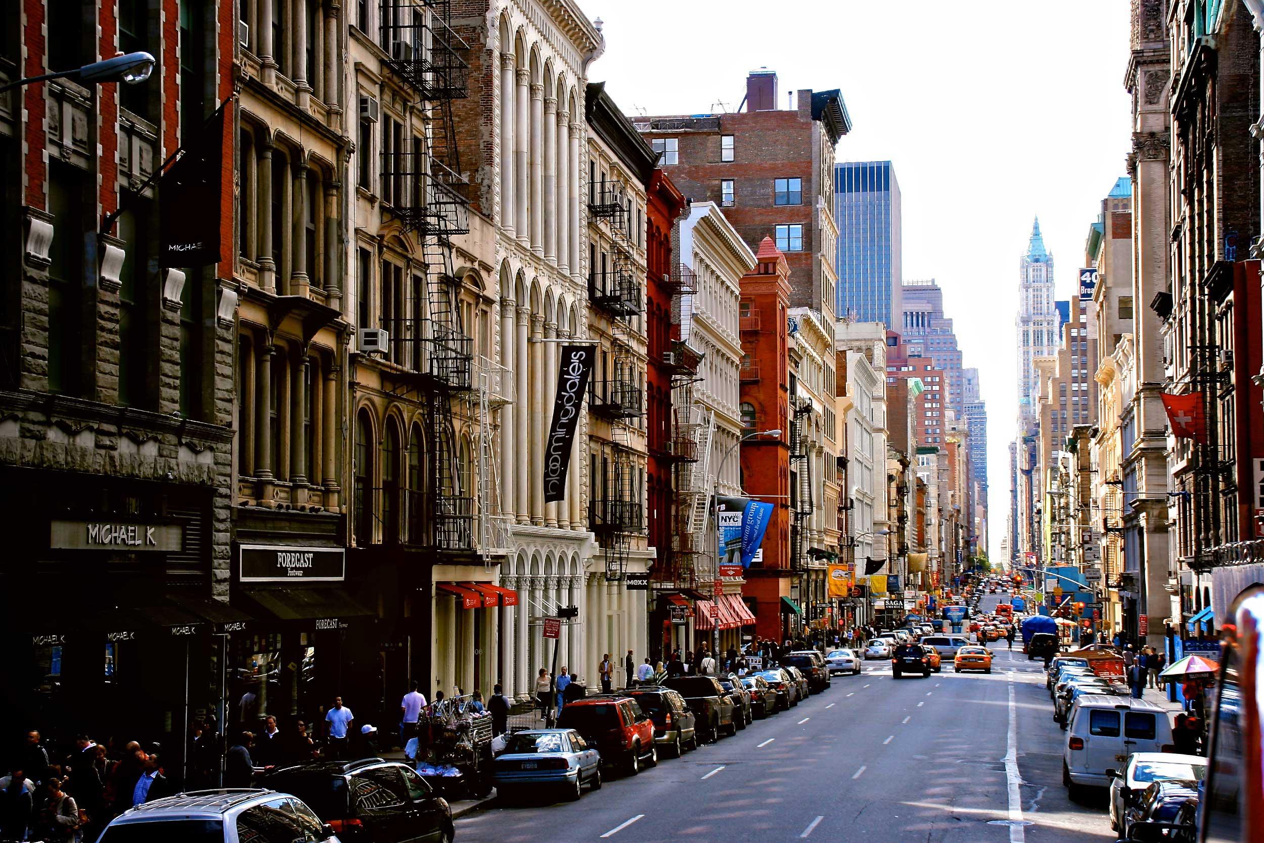 Der Broadway in 2005
