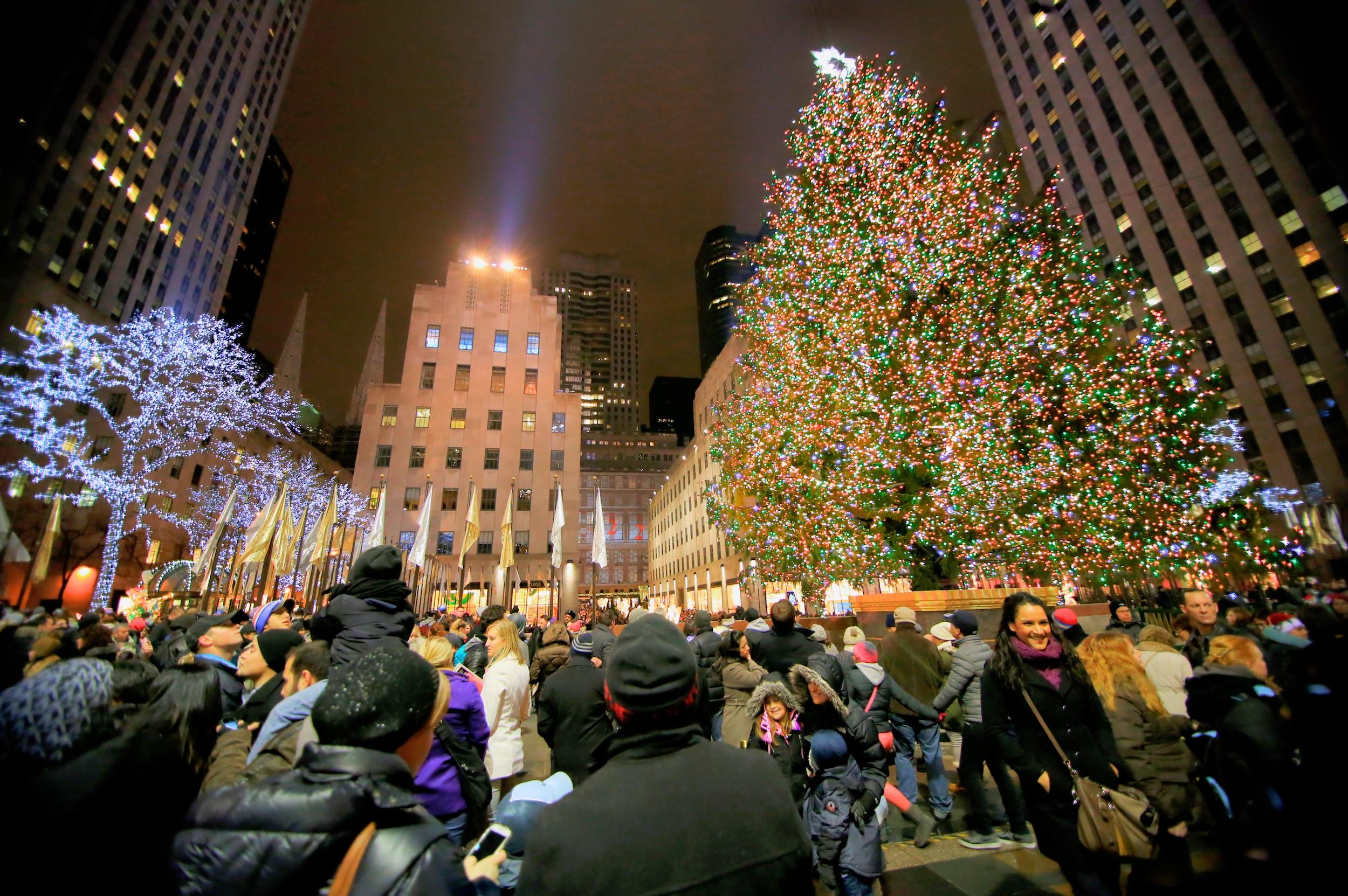 Rockefeller Weihnachtsbaum