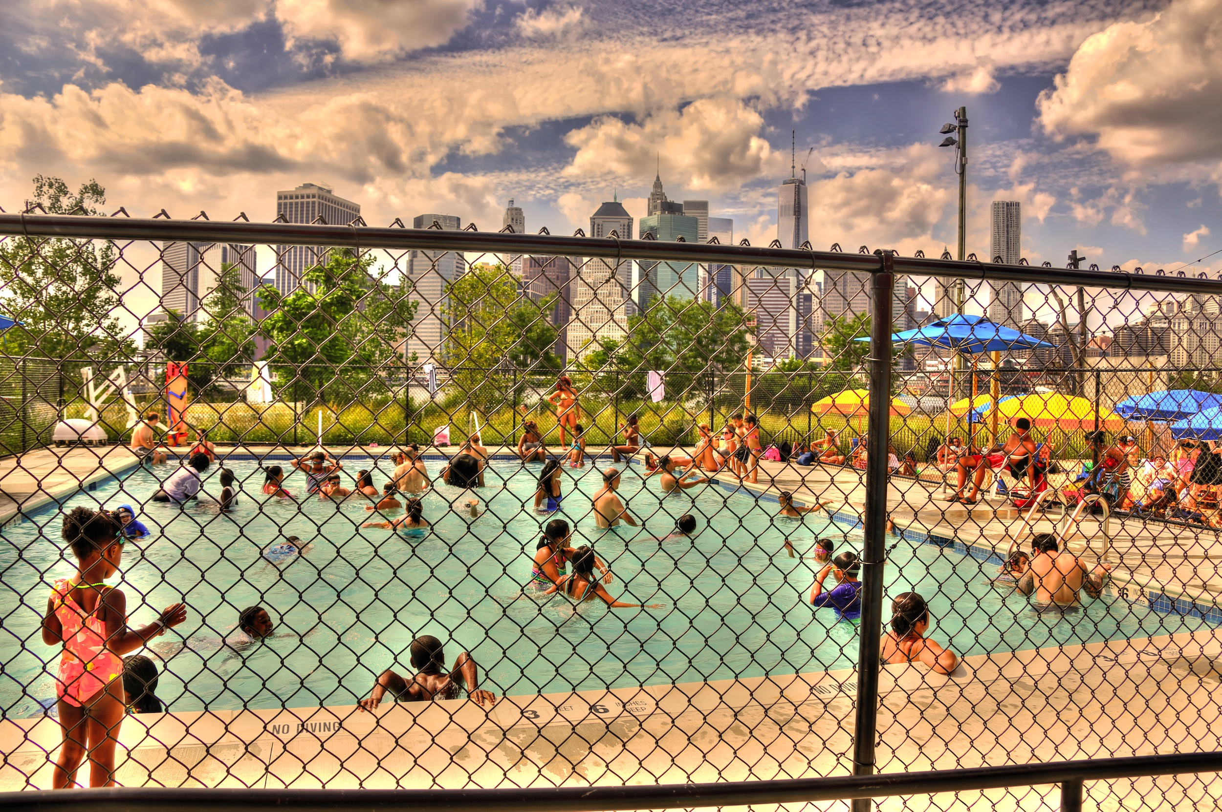 Der Pop-Up Pool in Brooklyn