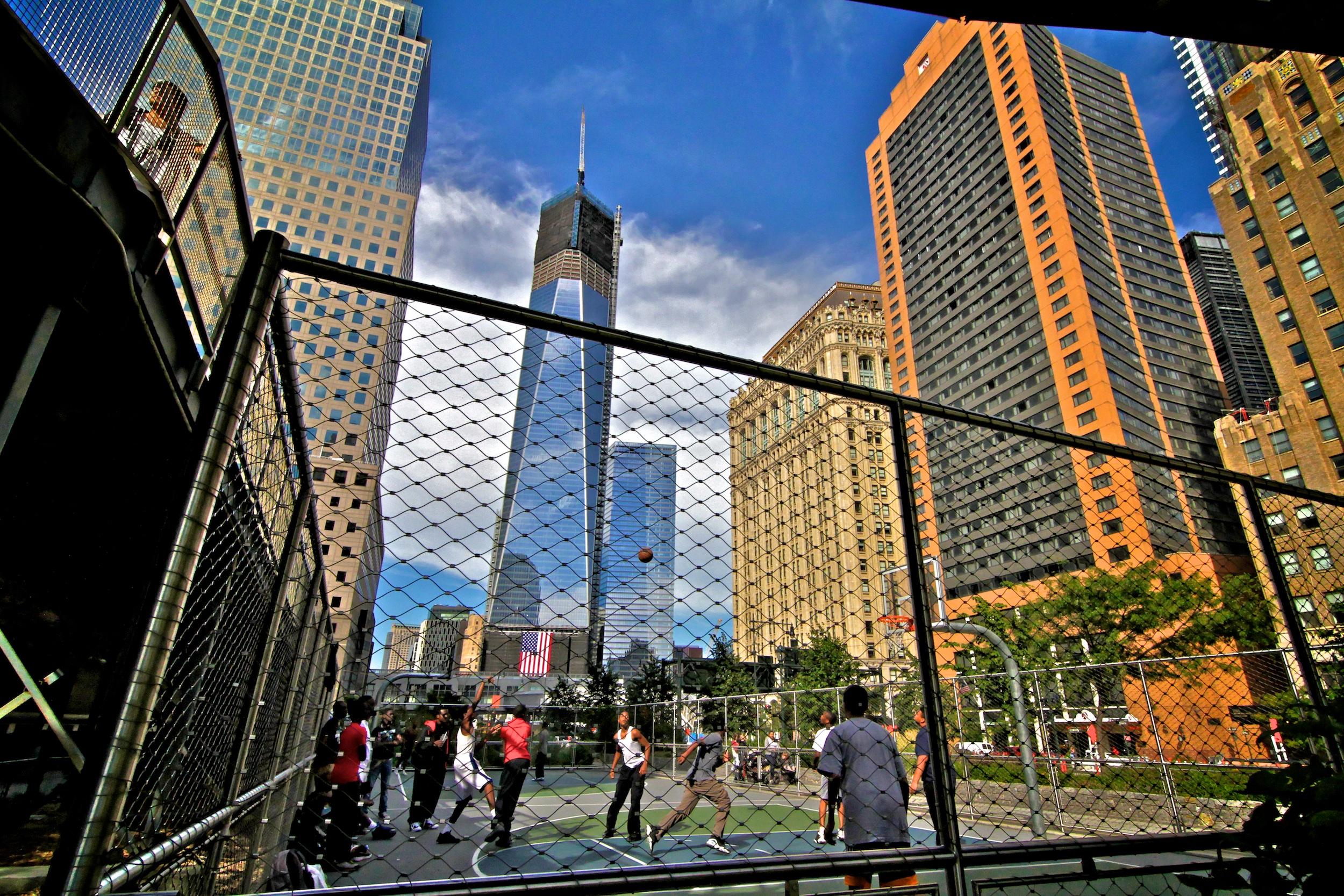 Basketball vor dem 1WTC